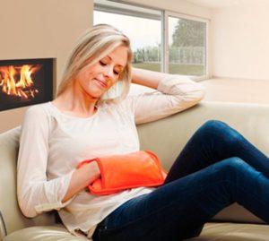 Elektrische kruik als handwarmer of voor buikpijn