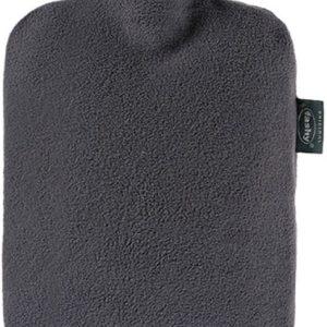 Fashy warmwaterkruik met fleece hoes grijs