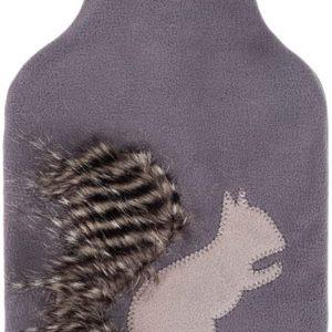 Fashy kruik met eekhoorn fleece hoes